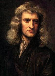 مكتشف الجاذبية الارضية اسحاق نيوتن نيوتن