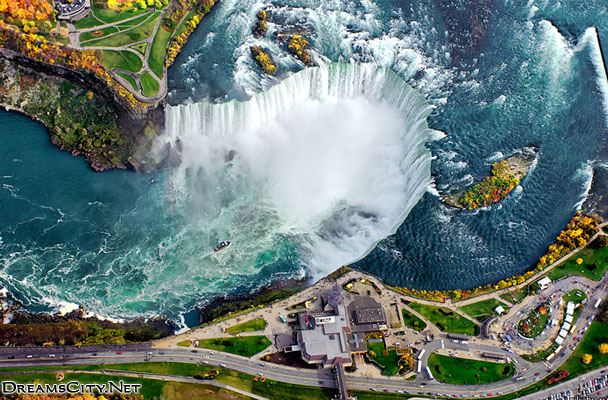 Photos Niagara Falls from the top