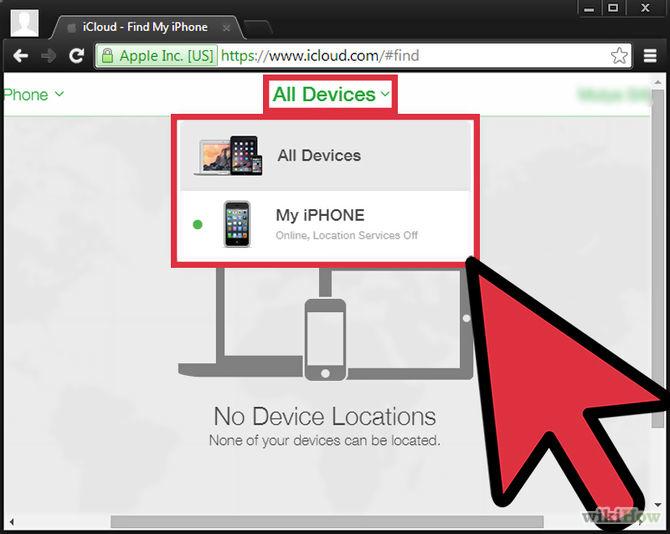 تتعقب الايفون الخاص تطبيق Find iPhone