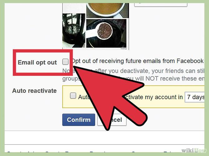 ايقاف حسابك الفيس
