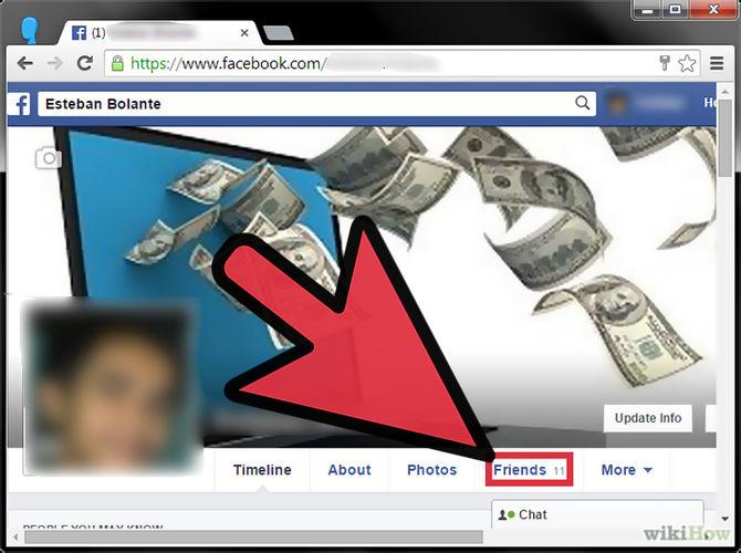 كيف يمكن الغاء الصداقة على الفيس بوك
