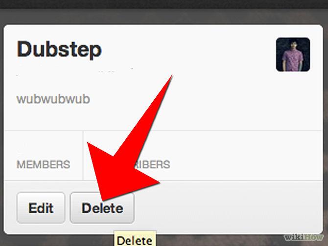 شرح بالصور كيف تلغي قائمة حساب تويتر