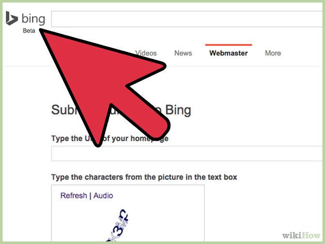 كيف يمكن اضافة موقعك الى محرك بحث بينج