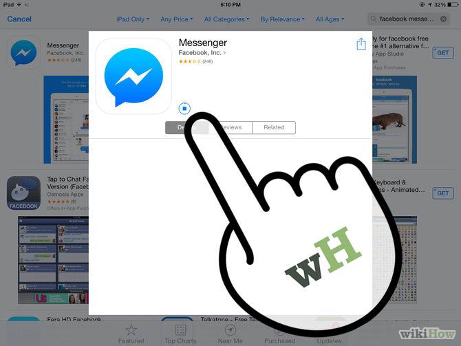تطبيق Facebook Messenger للايفون