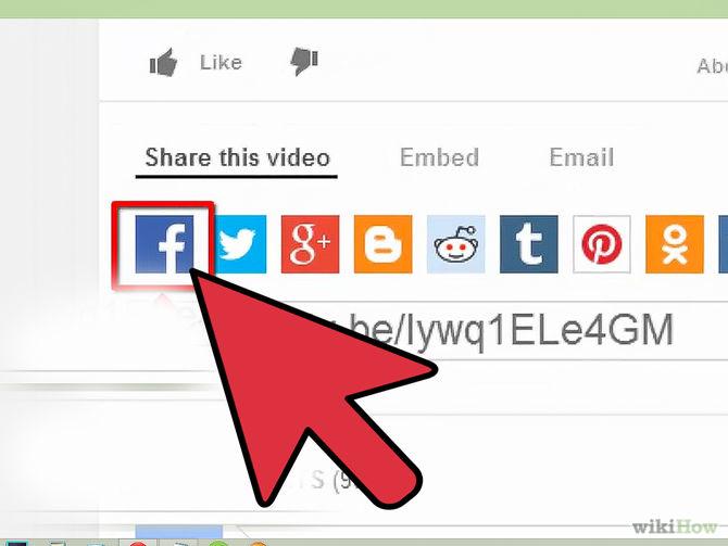 فيديو اليوتيوب صفحتك الفيس