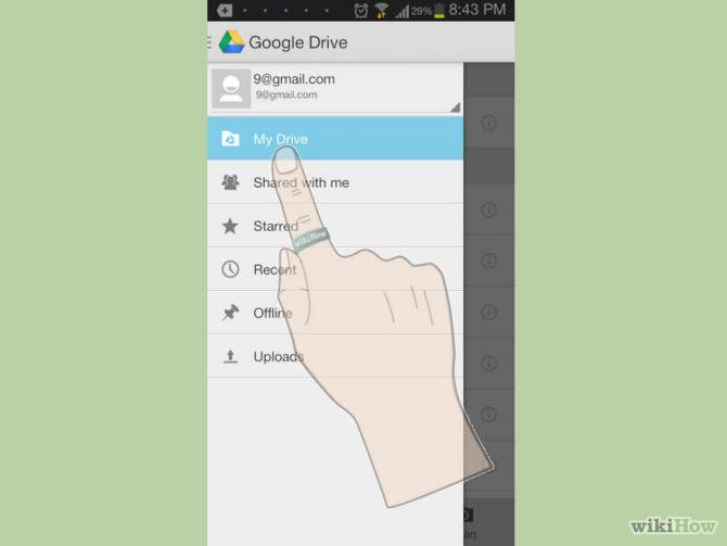 تطبيق درايف لهواتف الاندرويد
