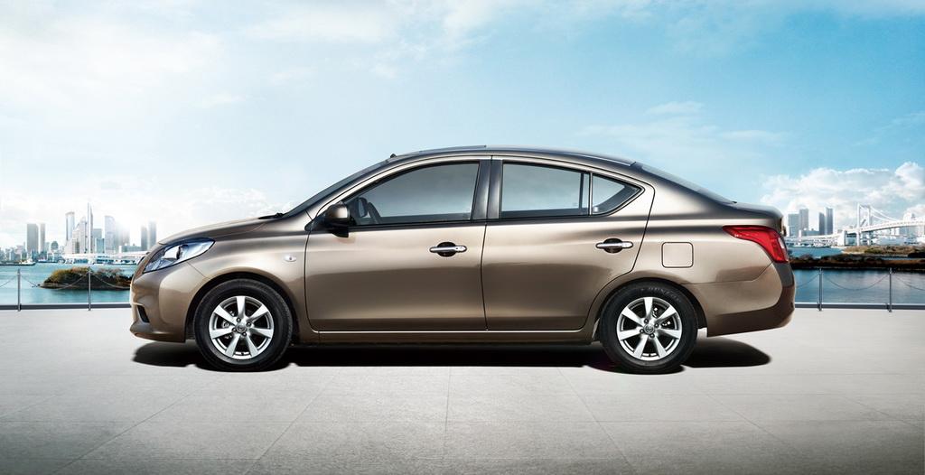 صور سيارة Nissan Sunny2012 الجديدة الداخل والخارج 2012