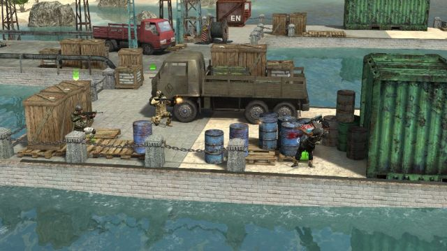 الاكشن للكمبيوتر 2012لعبة الأكشن القتال Jagged Alliance Back