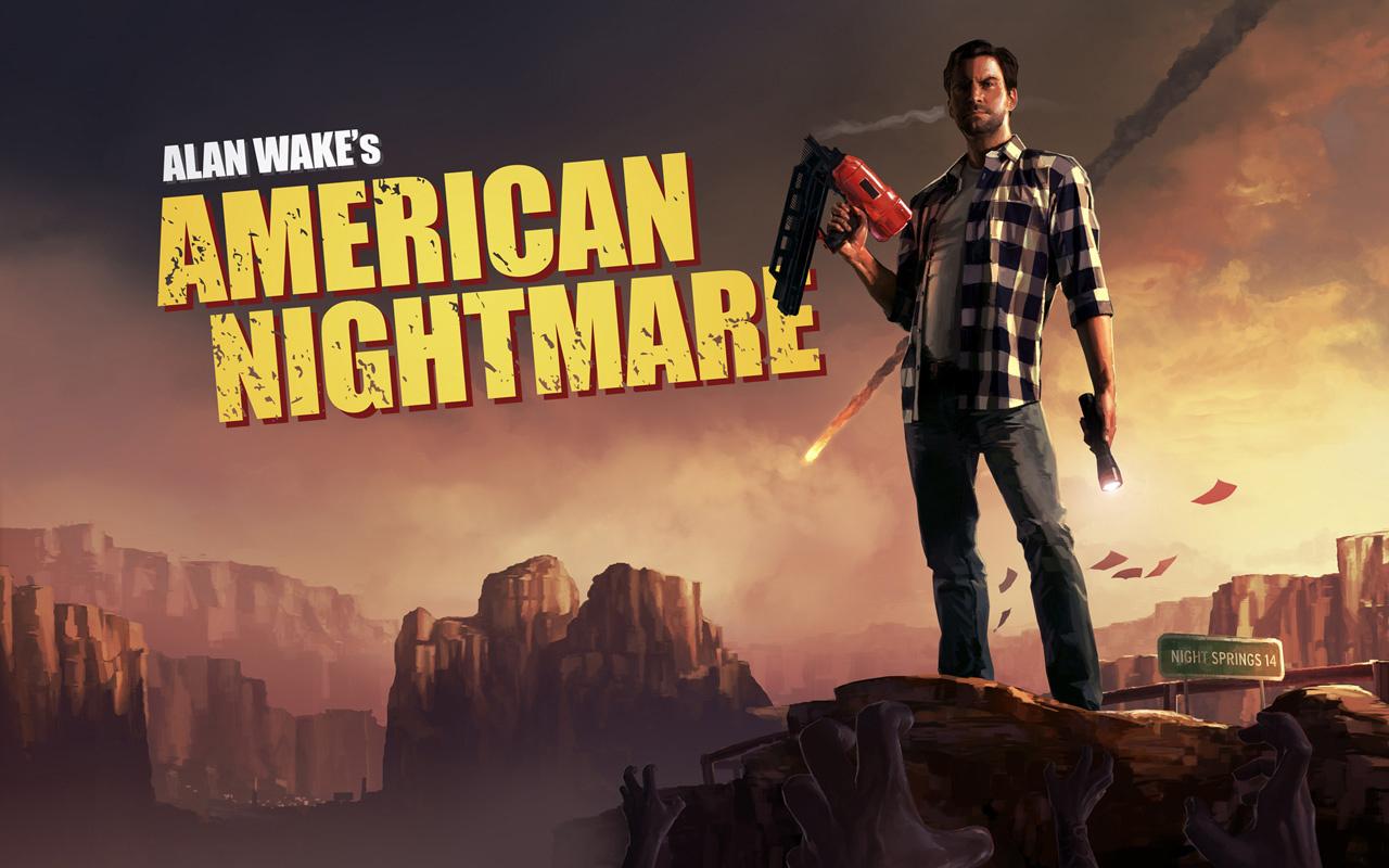 الأكشن والأثارةAlan Wakes American Nightmare 2012