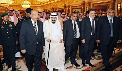 اخبار زيارة المصري السعودية الجمعة 4/5/2012 واحداث اللقاء