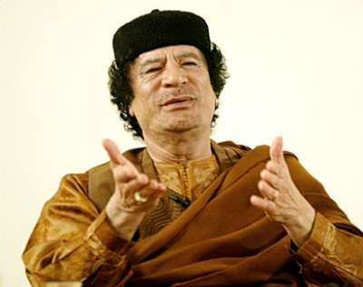 القذافي بالناس الفطر المبارك العاج 2012