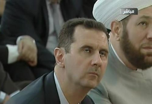 للرئيس السوري الأسد العيد الفطر