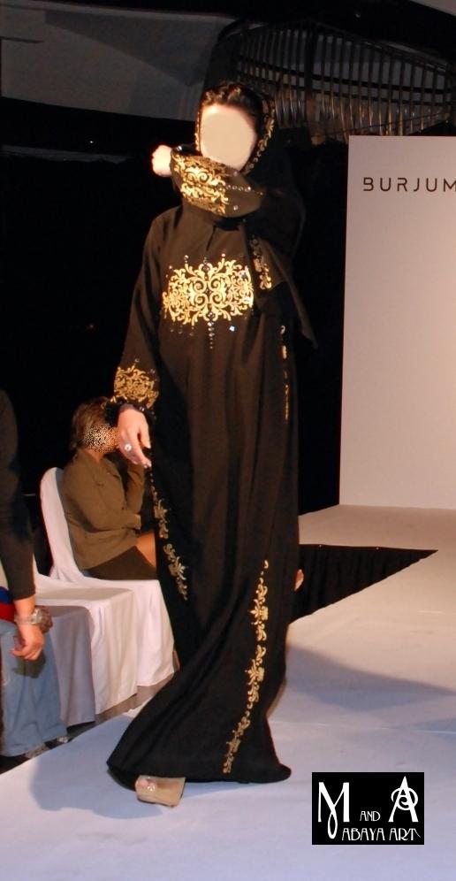 عبايات سوداء 2012