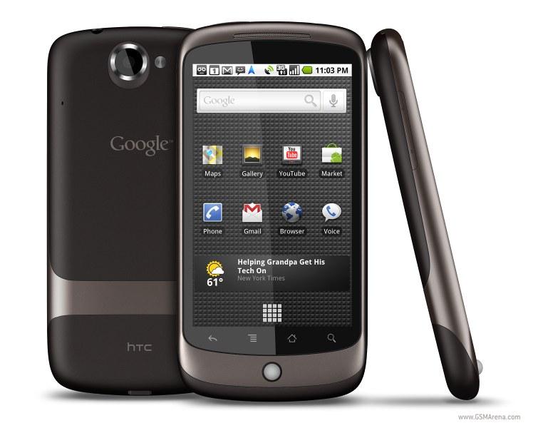 google Nexus One بشاشة 3.7 باللمس، وكاميرا