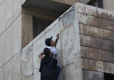 يوتيوب شباب يقتحمون عمارة العفاريت الاسكندرية