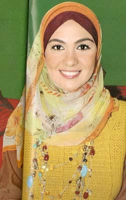 المذيعات المصرية بالحجاب 2012