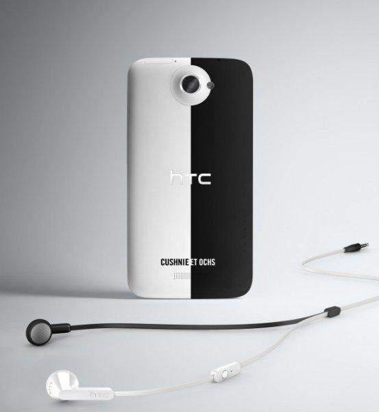 HTC One باللونين الابيض والاسود