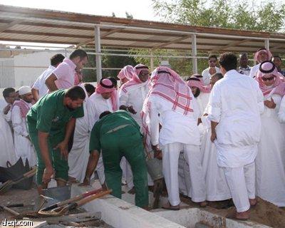 جنازة الملحن السعودي إحسان