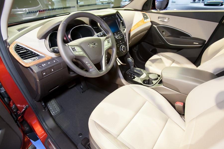 صور سيارة هيونداي سنتافي الجديدة الداخل والخارج hyundai