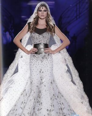 تصاميم 2013 لفساتين الزفاف.يوسف الجسمي