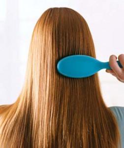 فوائد تسريح الشعر