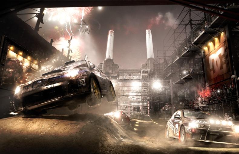 لعبة سباق سيارات dirt رهيب 2012