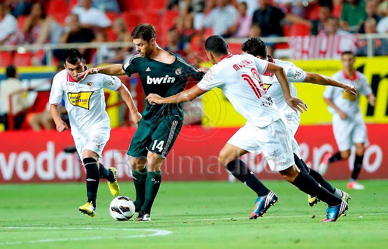 مباراة واشبيليه 0-1 السبت 15/9/2012