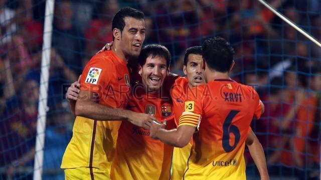 مباراة برشلونة وخيتافي 4-1 السبت 15/9/2012 getafe fcb