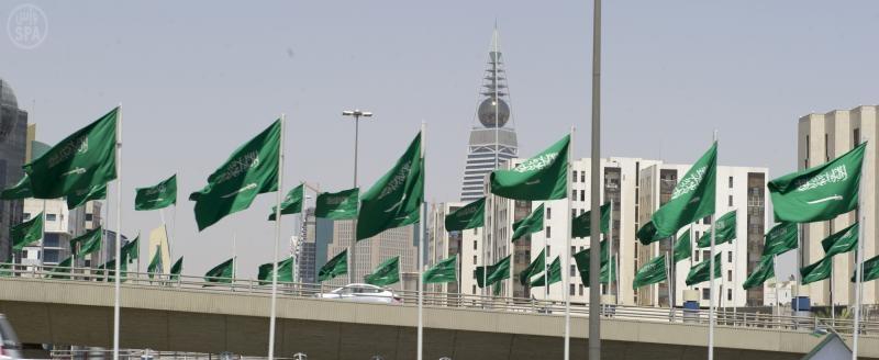 احتفالات الشعب السعودي باليوم الوطني 1433هـ الاطفال يتوشحون