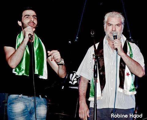 انشقاق الفنان السوري الكبير الحكيم قطيفان