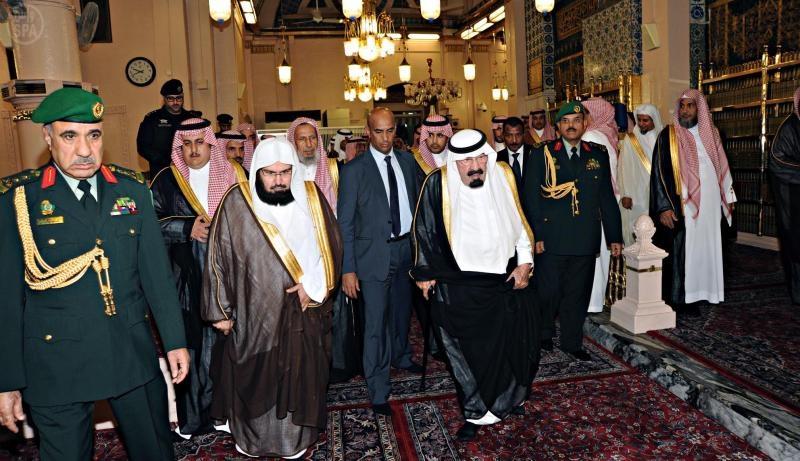 بالصور الحرمين الشريفين الأساس لتوسعة المسجد النبوي
