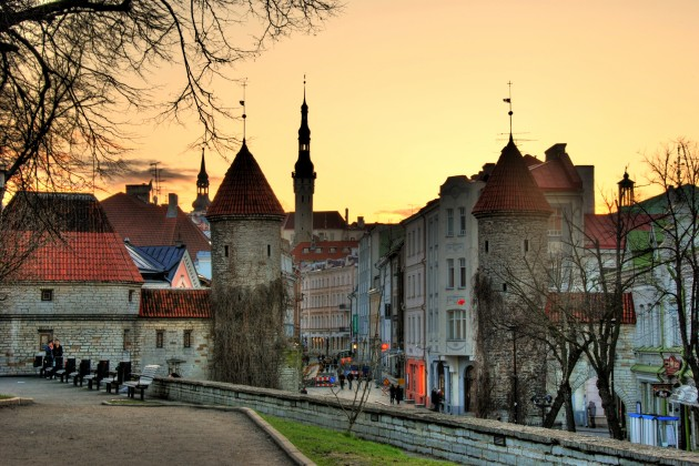 أستونيا العاصمة الأستونية