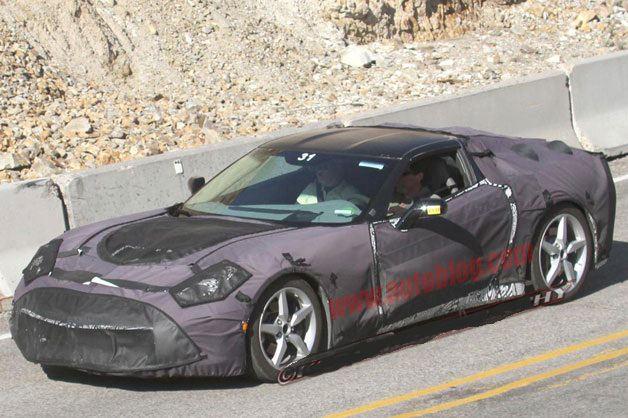 بالصور تعرف على سيارة كورفيت طراز 2014