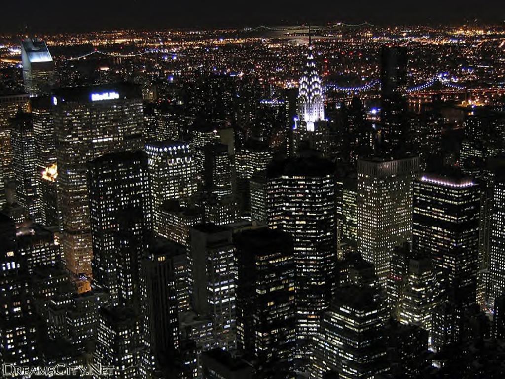 خلفيات صور مدينة نيويورك الليل مناظر ليلية لمدينة