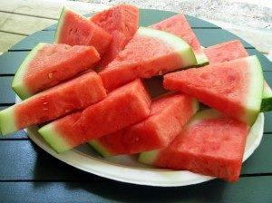 البطيخ فواكه الصيف