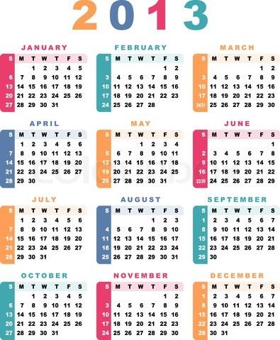 calendar 2013 2013 calendar template