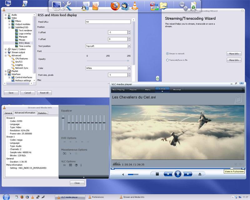 برنامج VLC Media Player عمالقة الصوت والفيديو النسخة