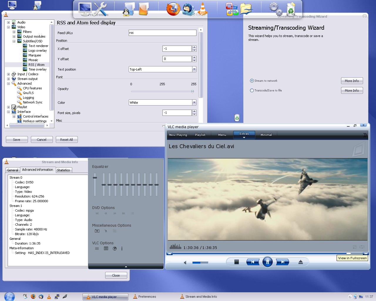 اصدار الصوت والصوره VLC Media Player