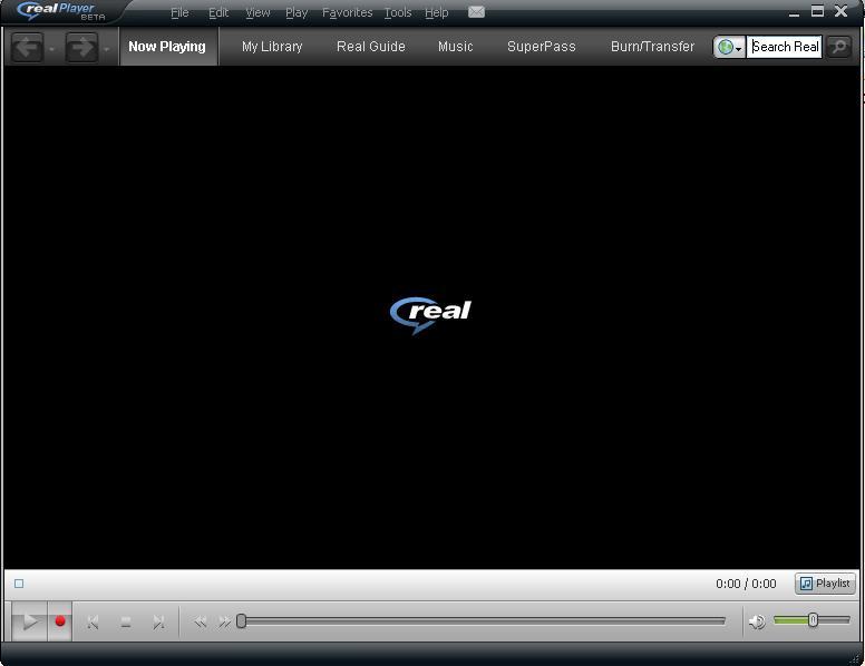 برامج تشغيل الفيديو والصوتيات RealPlayer Gold اصدار