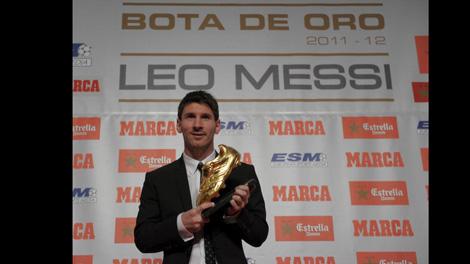 جائزة الحذاء الذهبي 2012