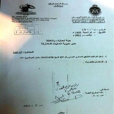 الكويت طائرة عسكرية اردنية اراضيها