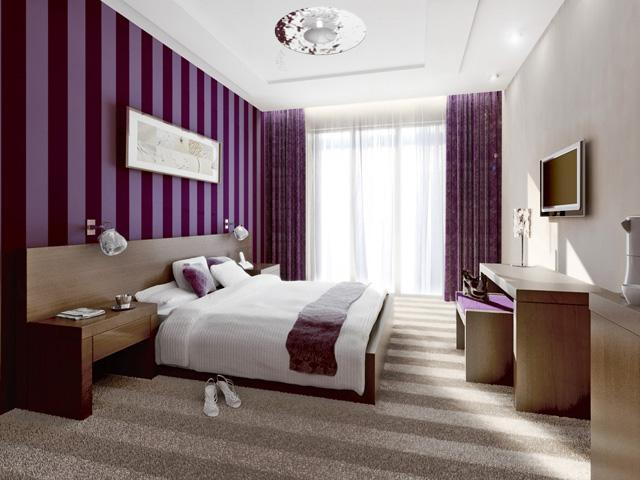 غرف نوم بكل الالوان
