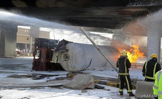 الامير شاحنات الغاز الرياض