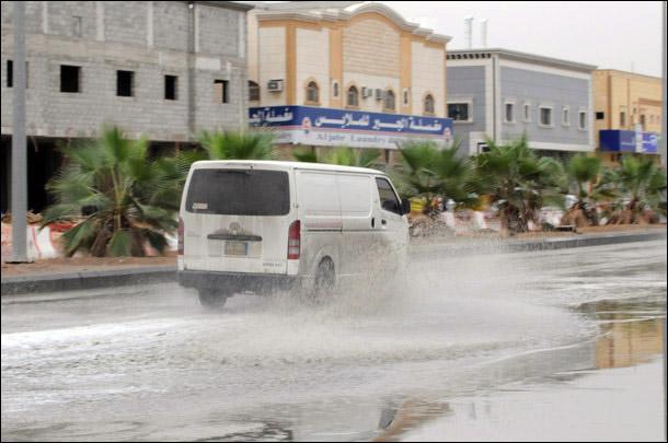 الرياض الامطار الخميس 29/11/2012