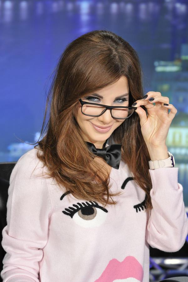 صور نانسي عجرم عرب ايدول لوك نانسي تفاجئ