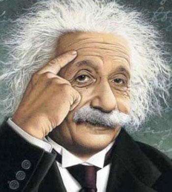 العالم البيرت اينشتاين