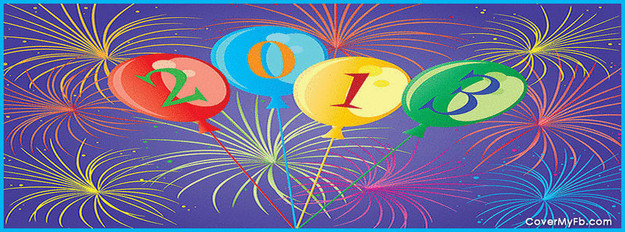 2013 New Year Facebook Cover