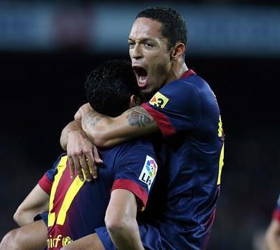 واهداف مباراة برشلونة واتليتكو الاحد 16/12/2012