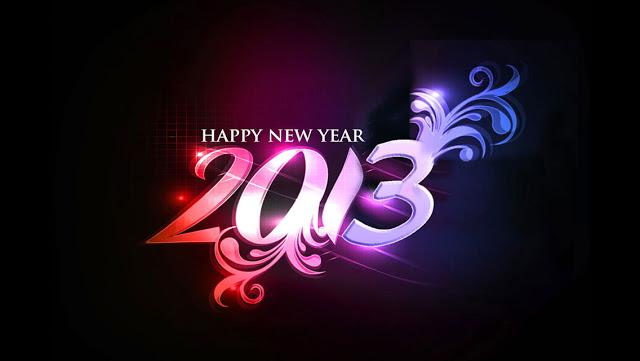 خلفيات فون للعام الجديد 2013