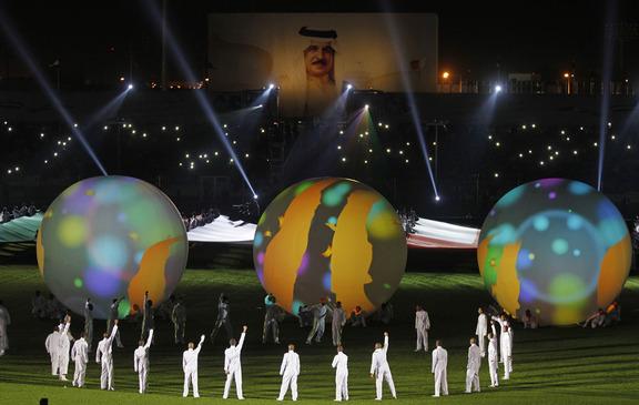 تعادل البحرين مباراة الافتتاح خليجي21